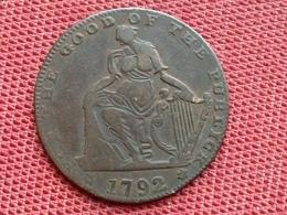 IRLANDE Jeton, Irlande, Dublin 1792, Hibernian Mine, TTB - Irlande