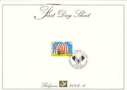 "BELG.2002 3071 - FDS - Europa ""Circus"" - 2001-10"