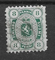 1875 USED Finland Perf 11 - 1856-1917 Russische Administratie