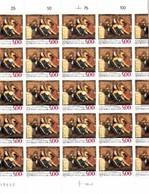YT 2558  Enguerrand Carton  Feuille 30 TP N** Faciale 5F00 F (0.76 Euro) Cote 90,00 - Feuilles Complètes