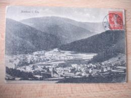 Liberation  Alsace 1919 Rothau Cachezt Obliteration Allemande Sur Timbre Semeuse - Marcophilie (Lettres)