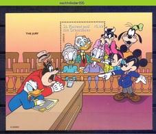 Nct620 WALT DISNEY GOOFY, DONALD AND THE JURY ST. VINCENT & THE GRENADINES 1996 PF/MNH # - Disney
