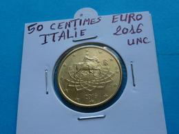50 CENTIMES EURO ITALIE 2016 Unc  ( Sous étui H B ) - Italie