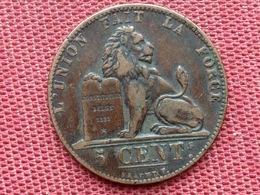 BELGIQUE Monnaie De 5 Cts 1848 Superbe état - 1831-1865: Léopold I