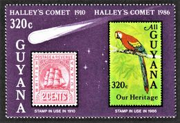 Guyana - Scott #1461c MNH - Horizontal Pair Imperf  (2) - Guyana (1966-...)