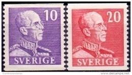 ZWEDEN 1939 Gustaf V Type I PF-MNH - Schweden