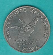 Tonga - 2 Pa'anga - 1980 - Humpback Whale Breaching - KM63 - Tonga