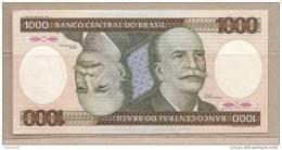 Brasile - Banconota Non Circolata FdS Da 1000 Cruzeiros P-201d - 1986 - Brasile