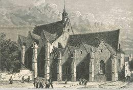 920 - INDRE ET LOIRE - LA TOURAINE ROMANTIQUE - TOURS - Eglise Notre Dame De La Riche - Tours