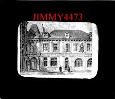Plaque Photo De Verre - Maison Ou Est Né Saint Jean Baptiste De La Salle En 1651 - REIMS 51 Marne  Scans Négatif-Positif - Reims