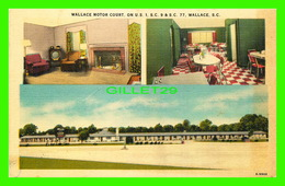 WALLACE, SC - WALLACE MOTOR COURT - 3 MULTIVUES - HENRY H. AHRENS - - Etats-Unis