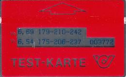 ÖSTERREICH-Test-Karte-T6 - Autriche
