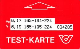 ÖSTERREICH-Test-Karte-T7 - Autriche