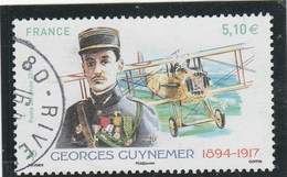 FRANCE 2017 GEORGES GUYNEMER OBLITERE PA 81 - 1960-.... Gebraucht