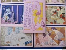 CARNET DE 6 CPA - EDOUARD BERNARD - L'ENTÔLAGE (PROSTITUTION) - ART NOUVEAU - Illustrateurs & Photographes