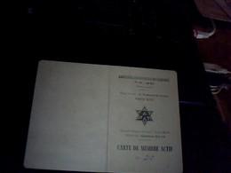 Vieux Papier Genealogie  SNCF Carte Associationdes Anciens Apprentis Du PO   MIDI Annee 1945 - Documentos Antiguos