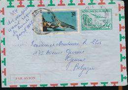 BURUNDI STIBBE 1 USED USUMBURA 1967 - Burundi