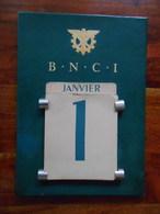 Calendrier Perpétuel BNCI Années 60 - Calendriers