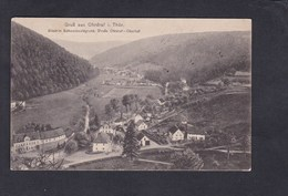 Gruss Aus Ohrdruf Blick In Schwarzwaldgrund Strasse Oberhof Corresp. Prisonnier Guerre 113 R.I. Kriegsgefangenen Lager - Allemagne