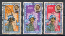 Ethiopie  N°68 à70 (o) - Etiopia