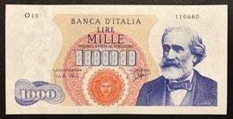 1000 LIRE VERDI I° TIPO 14 07 1962  FDS LOTTO 041 - [ 2] 1946-… : République
