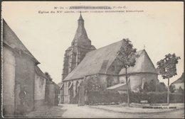 Église Du XVe Siécle, Avesnes-le-Comte, C.1910s - Charles Ledieu CPA - Avesnes Le Comte