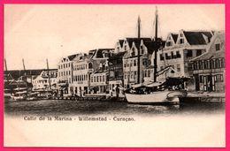 Curaçao - Calle De La Marina - Willemstad - Voilier - Animée - Curaçao