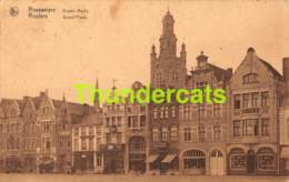 CPA ROUSSELARE GROOTE MARKT ROESELARE ROULERS GRAND PLACE - Roeselare