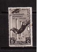 Italian Colonies-1934,(Mi.83) ,Football, Soccer, Fussball,calcio,MH - Fußball-Weltmeisterschaft