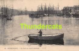 CPA DUNKERQUE 59 LE PORT AU SOLEIL COUCHANT - Dunkerque