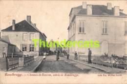 CPA ROUSBRUGGE CHAUSSEE DE BEVEREN  ENTREE DE ROUSBRUGGE WUILUS DAVID - Poperinge