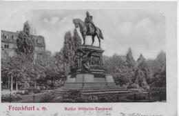 AK 0119  Frankfurt Am Main - Kaiser Wilhelm-Denkmal / Verlag Lautz & Balzar Um 1903 - Denkmäler