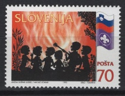 Slovenia (1995) Yv. 114   /  Boy Scouts - Scouting - Scout - Movimiento Scout