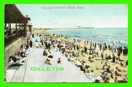 REVERE BEACH, MA - PANORAMA ANIMATED - TRAVEL IN 1909 - THE METROPOLITAN NEWS CO - - Etats-Unis