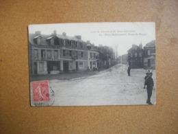 Carte Postale Ancienne D'Eu - Circuit De La Seine-Inférieure - Place Miromesnil, Route De Dieppe - Eu