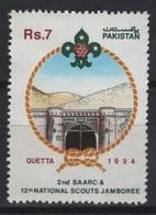 Pakistan (1994) Yv. 881  /  Boy Scouts - Scouting - Scout - Movimiento Scout