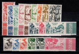 Togo - YV 236 à 253 N** Serie Courante Complete BdF Cote 22,50+ Euros - Togo (1914-1960)