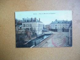 Carte Postale Ancienne De Gisors: Place Du Marché Aux Poissons - Gisors