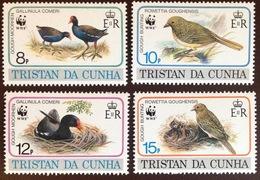 Tristan Da Cunha 1991 Endangered Birds MNH - Oiseaux