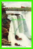 GOAT ISLAND, NY - HORSEHOE FALL AND TERRAPIN ROCK - TRAVEL IN 1908 - - NY - New York