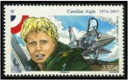 TIMBRE - FRANCE PA - 2014 - Caroline Aigle - Poste Aérienne