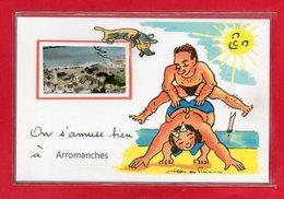 14-CPSM ARROMANCHES - Arromanches