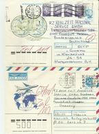 Russland GS  Aus Ukraien Oder Belarus , 2 älter Belege - 1980-91