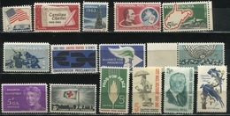 USA - 1963 Lot Of 15 Stamps MNH** - USA63 - Stati Uniti