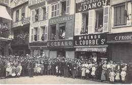 ** CARTE PHOTO / REAL PHOTO ** 60 - BEAUVAIS Fête Jeanne Hachette (2/2) Animation Magasins Commerces ... - CPA - Oise - Beauvais
