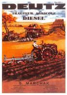 Tracteur Deutz Batteuse Collection Bouchardon Riom - Tracteurs
