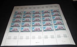 France 1971 Neuf** N°1674 QUATRE-MÂTS Feuille Complète (full Sheet) - Feuilles Complètes