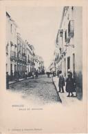 POSTCARD SPAIN ESPAÑA - BADAJOZ - CALLE DE MENACHO - Badajoz
