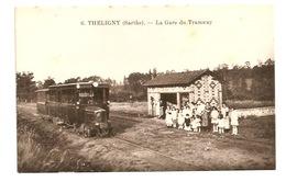 THELIGNY - La Gare De Tramway - France