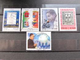 *ITALIA* LOTTO 5 USATI 2002 - MISSIONE PACE BINDA ACQUA ESCRIVA DUCATO MODENA - 6. 1946-.. Repubblica